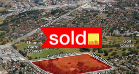 Development / Land commercial property sold at 64-70 Box Street Doveton VIC 3177