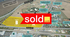 Development / Land commercial property sold at Corner Princes Highway and Hoppers Lane Werribee VIC 3030