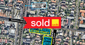 Development / Land commercial property sold at 3-9 Claire Street Mckinnon VIC 3204