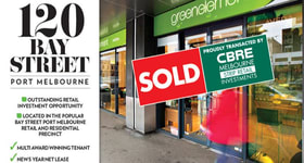 Shop & Retail commercial property sold at 120 Bay Street Port Melbourne VIC 3207