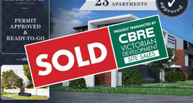 Development / Land commercial property sold at 1170 Dandenong Road Carnegie VIC 3163