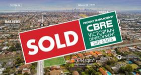 Development / Land commercial property sold at 1455 High Street & 2a Scott Grove Glen Iris VIC 3146