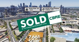 Development / Land commercial property sold at 253-273 Normanby Road South Melbourne VIC 3205