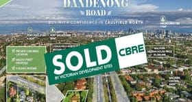 Development / Land commercial property sold at 462-464 Dandenong Road Caulfield North VIC 3161