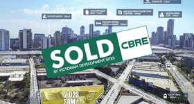 Development / Land commercial property sold at 112 Munro Street South Melbourne VIC 3205