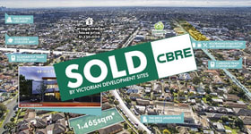 Development / Land commercial property sold at 98-100 Truganini Road Carnegie VIC 3163