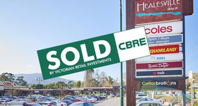 Shop & Retail commercial property sold at Healesville Walk Shopping Cent/251 Maroondah Highway Healesville VIC 3777