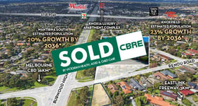 Shop & Retail commercial property sold at 2 Renou Road Wantirna South VIC 3152