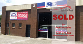 Factory, Warehouse & Industrial commercial property sold at 6/60 Allingham Street Condell Park NSW 2200