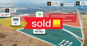 Development / Land commercial property sold at 132HA on Bulban Road Werribee VIC 3030