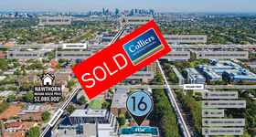 Development / Land commercial property sold at 16 George Street Hawthorn VIC 3122