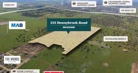 Development / Land commercial property sold at 355 Donnybrook Road Mickleham VIC 3064
