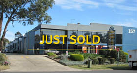 Factory, Warehouse & Industrial commercial property sold at Unit 15/157 Airds Road Minto NSW 2566