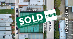 Development / Land commercial property sold at 415-423 Macaulay Road Kensington VIC 3031