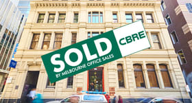 Offices commercial property sold at 303 & 304/430 Little Collins Street Melbourne VIC 3000