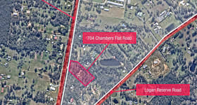 Development / Land commercial property sold at 704 Chambers Flat Road Logan Reserve QLD 4133