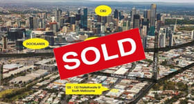 Development / Land commercial property sold at South Melbourne VIC 3205