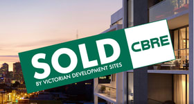 Development / Land commercial property sold at 207 Bridge Road Richmond VIC 3121