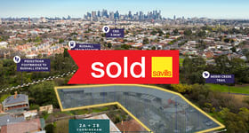 Development / Land commercial property sold at 2A + 2B Cunningham Street Northcote VIC 3070
