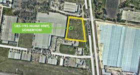 Development / Land commercial property sold at 185-193 Hume Highway Somerton VIC 3062