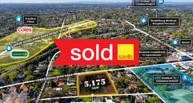 Development / Land commercial property sold at 24-26 Lower Heidelberg Road Ivanhoe VIC 3079