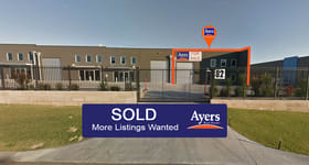 Factory, Warehouse & Industrial commercial property sold at 1/82 Christable Way Landsdale WA 6065