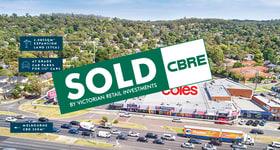 Shop & Retail commercial property sold at Maroondah Shopping C Cnr Exeter Rd & Maroondah Hwy Croydon North VIC 3136