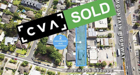 Development / Land commercial property sold at 2 Highmoor Avenue Bayswater VIC 3153