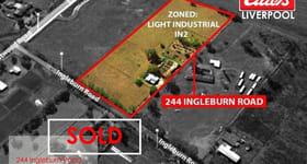 Development / Land commercial property sold at 244 Ingleburn Road Leppington NSW 2179