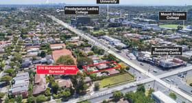Development / Land commercial property sold at 274 Burwood Highway Burwood VIC 3125