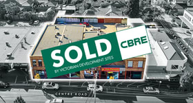 Development / Land commercial property sold at 277-279 Centre Road Bentleigh VIC 3204