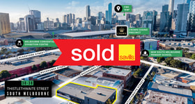 Offices commercial property sold at 30-38 Thistlethwaite Street South Melbourne VIC 3205