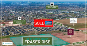 Development / Land commercial property sold at 39-57 Saric Court Fraser Rise VIC 3336