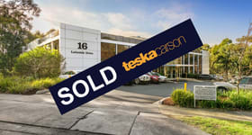 Offices commercial property sold at 16 Lakeside Drive Burwood East VIC 3151