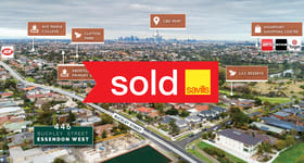 Development / Land commercial property sold at 446 Buckley Street Essendon West VIC 3040