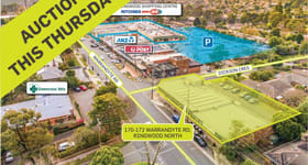 Development / Land commercial property sold at 170-172 Warrandyte Road Ringwood North VIC 3134