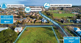Development / Land commercial property for sale at 403 Latrobe Street Redan VIC 3350