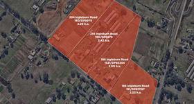 Development / Land commercial property sold at 186-224 Ingleburn Road Leppington NSW 2179