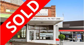 Shop & Retail commercial property sold at 616 High Street Kew VIC 3101