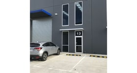 Factory, Warehouse & Industrial commercial property sold at 13/1 Network Drive Truganina VIC 3029