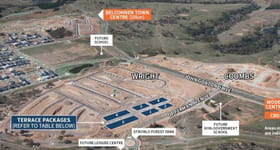 Development / Land commercial property sold at Lot  1-12/4-26 Ian Mudie Lane Wright ACT 2611