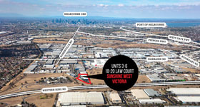 Industrial / Warehouse commercial property for sale at Units 3-6/18 - 20 Law Court Sunshine West VIC 3020