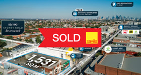 Development / Land commercial property sold at 836-842 Sydney Road Brunswick VIC 3056