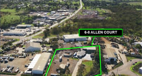 Factory, Warehouse & Industrial commercial property sold at 6-8 Allen Court Torrington QLD 4350