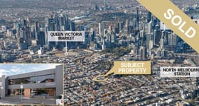 Development / Land commercial property sold at 530-538 Victoria Street North Melbourne VIC 3051