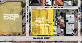 Development / Land commercial property for sale at 867, 871, 875 and 87 Beaufort Street Inglewood WA 6052