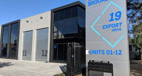 Factory, Warehouse & Industrial commercial property sold at Lot 21/19-21 Export Dr Brooklyn VIC 3012
