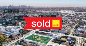 Development / Land commercial property sold at 277-279 Hawthorn Road Caulfield VIC 3162