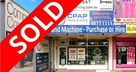 Shop & Retail commercial property sold at 10 Whitehorse Road Blackburn VIC 3130