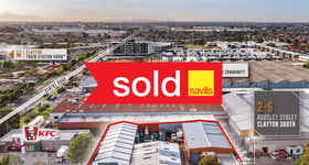 Development / Land commercial property sold at 2-6 Audsley Street Clayton South VIC 3169
